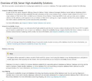 Figure 1. AlwaysOn defined in SQL Server 2012 Books Online
