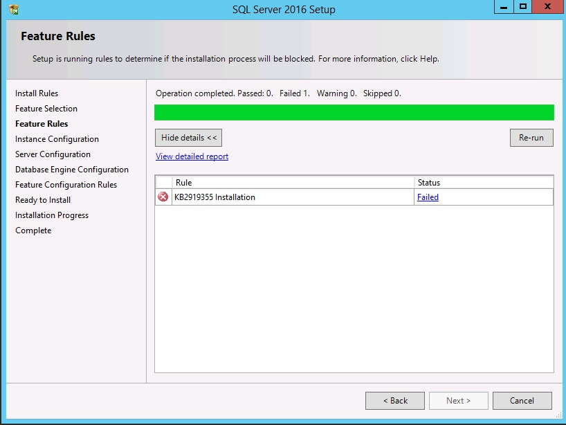 Gotcha for Installing SQL Server 2016 and SSMS on Windows